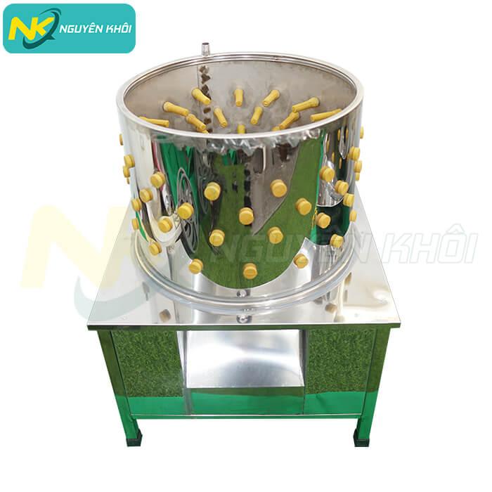 Thiết kế tối giản của máy vặt lông gà vịt giúp người dùng dễ dàng sử dụng