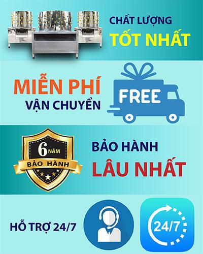 Chính sách mua máy vặt lông gà vịt Quang Huy