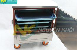 Tủ hấp gà vịt 4 khay bằng điện Nguyên Khôi