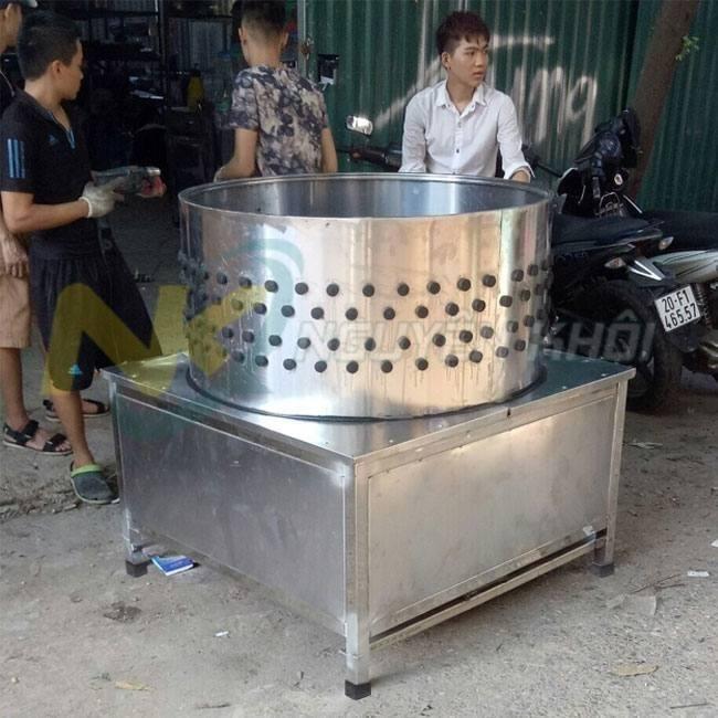 Nguyên khôi hỗ trợ vận chuyển lắp đặt máy vặt lông lợn