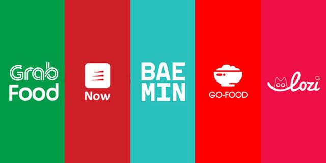 Các app đặt đồ ăn, hình thức bán đồ ăn online