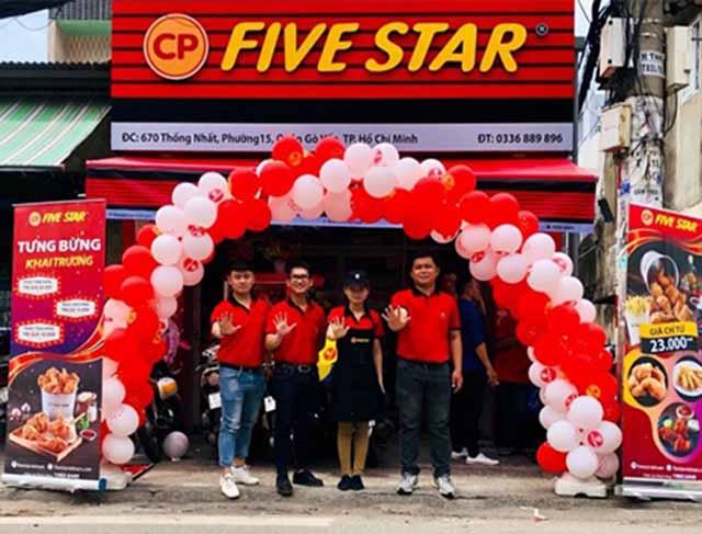 Kinh doanh nhượng quyền Five Star, mô hình kinh doanh thu lợi cao