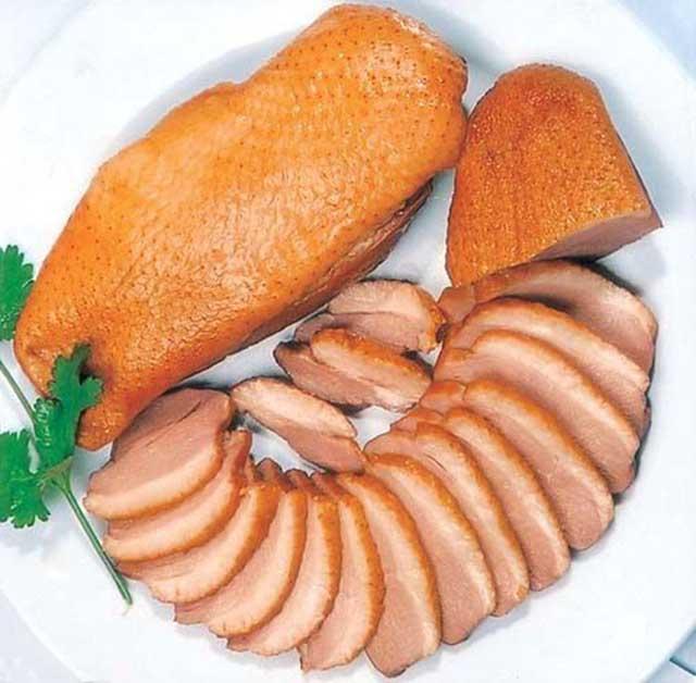 Món ức vịt xông khói dinh dưỡng, món ngon từ ức vịt xông khói